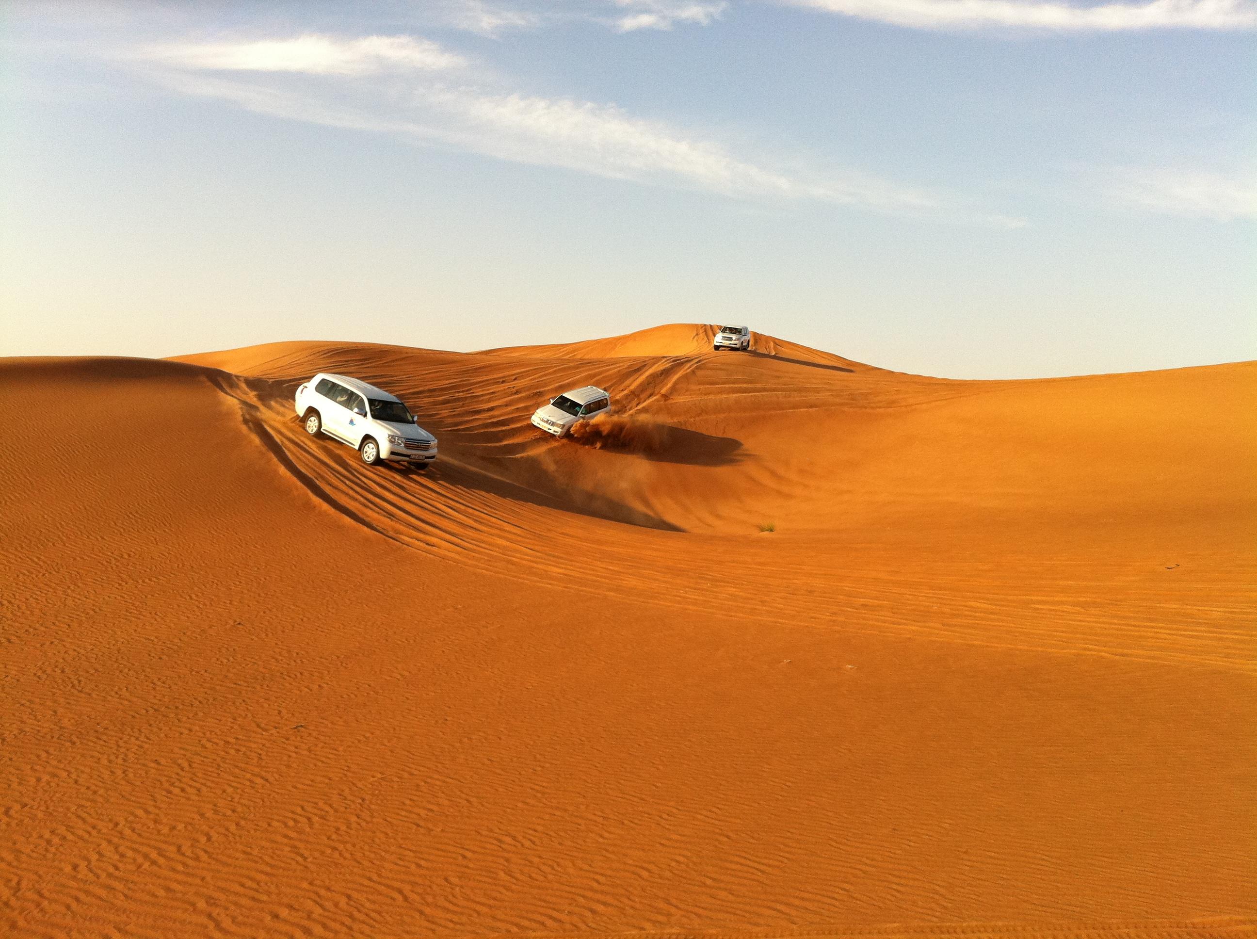 Desert Safari The Union Jag